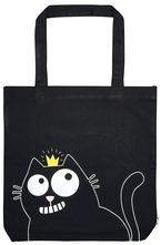 Чанта за пазаруване - Ed The Cat - Котка с корона