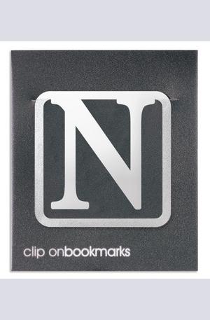 """Продукт - Метален разделител буква """"N"""""""
