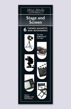 Продукт - Мини отметки за книги - Stage and screen