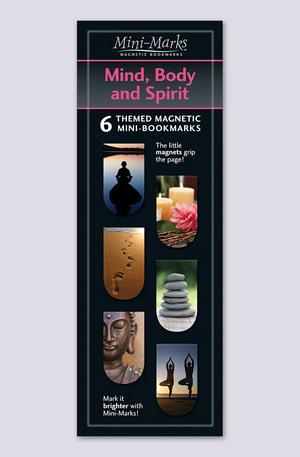 Продукт - Мини отметки за книги - Mind body and spirit