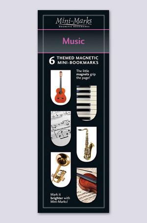 Продукт - Мини отметки за книги - Music