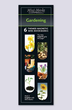 Продукт - Мини отметки за книги - Gardening