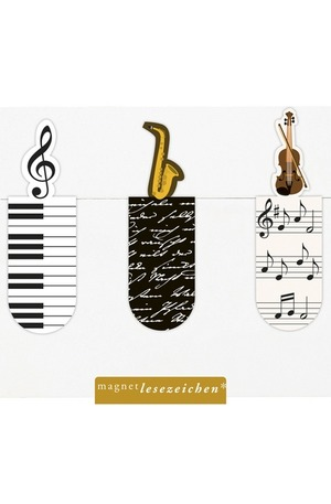 Продукт - Магнитен книгоразделител мини – Музика
