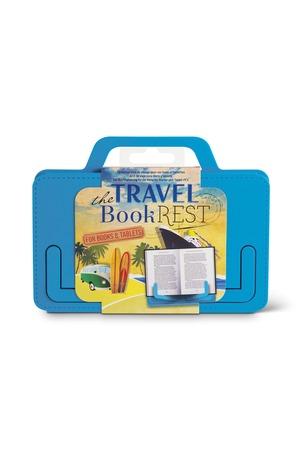 Продукт - Поставка за книги и таблети - Travel - син