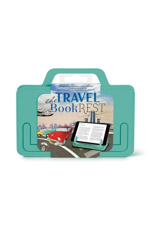 Продукт - Поставка за книги и таблети - Travel - ментово зелено