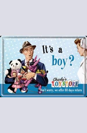Продукт - Метална картичка Its a boy?