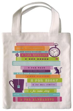 Продукт - Чанта за книги от плат - Read me