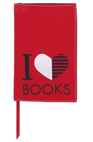 Продукт - Подвързия за книги - I love Books S