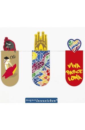 Продукт - Магнитен книгоразделител мини – Барселона