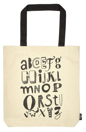 Продукт - Чанта за пазаруване - Alphabet