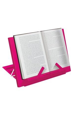 Продукт - Цветна поставка за книга - Розова