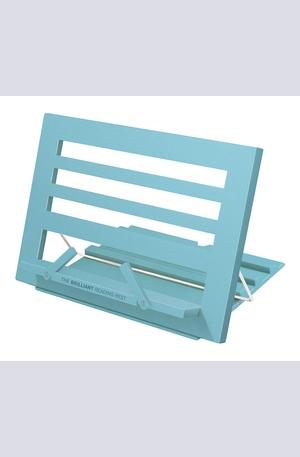 Продукт - Цветна поставка за книга - Синя