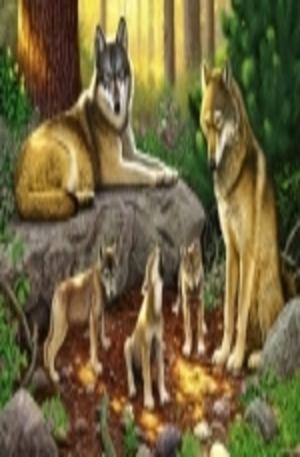 Продукт - A Family of Wolves - 1000