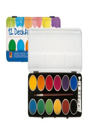 Продукт - Акварелни бои - 12 цвята