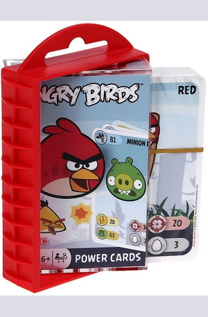 Продукт - Angry Birds Power Cards - Карти за игра