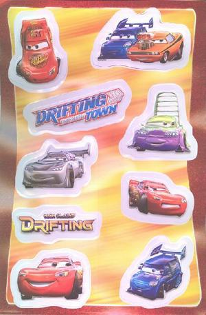 Продукт - Cars 3D Stickers - set of 9