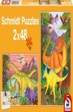 Продукт - Colourful dinosaurs - 2 x 26