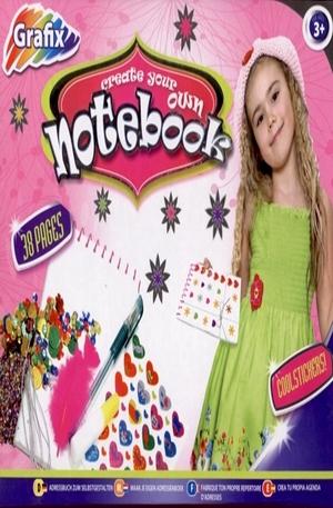 Продукт - Create your own notebook. Направи си сам бележник!