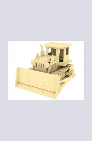 Продукт - Дървен конструктор - Булдозер – 179 части