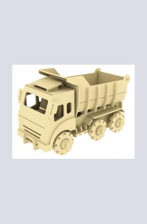 Продукт - Дървен конструктор - Самосвал – 88 части