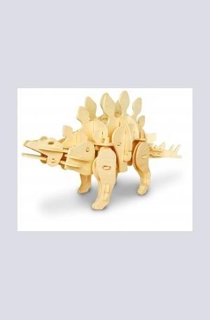 Продукт - Дървен конструктор - Стегозавър – 71 части