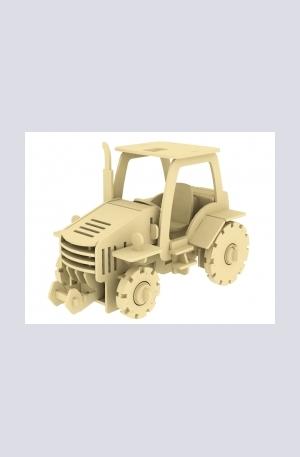 Продукт - Дървен конструктор - Трактор – 120 части