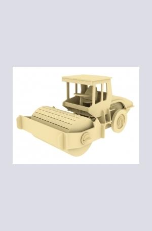 Продукт - Дървен конструктор - Валяк – 78 части