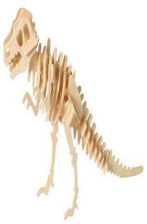 Продукт - Дървен пъзел динозавър Trigeratops
