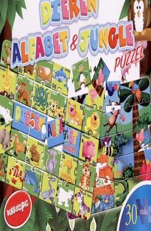 Продукт - Dieren alfabet & jungle - 30