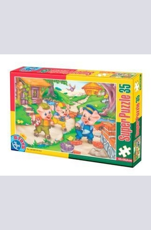 Продукт - Fairy Tales 4 - Super puzzle 35