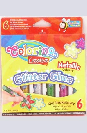 Продукт - Гел бои за декорация - 6 цвята - металик