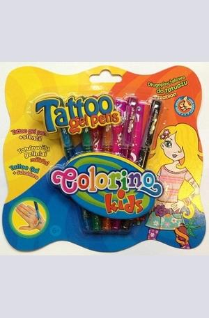 Продукт - Гел химикалки за татуировки - 5 цвята