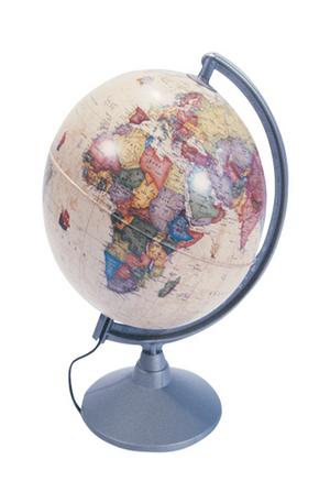 Книга - Глобус Marco Polo - светещ 30 см