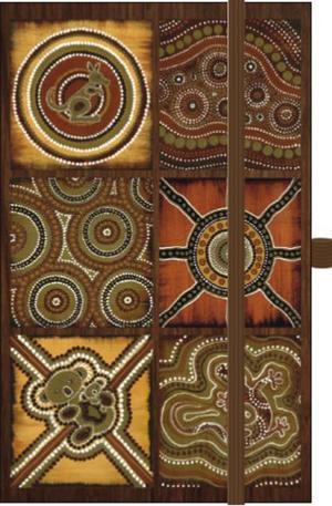Книга - Календар бележник Australia Mosaik 2014