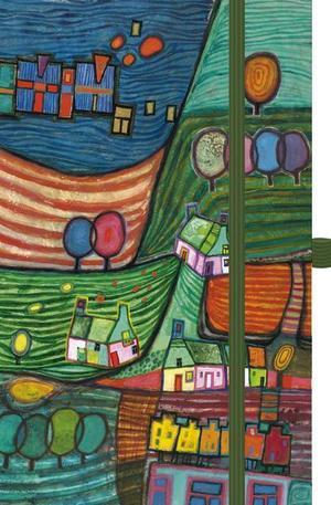 Книга - Календар бележник Magic Art Landschaft 2014