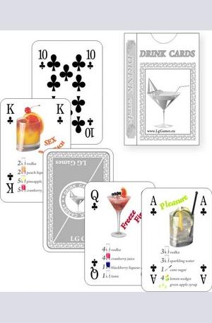 Продукт - Карти за игра - Drink Cards
