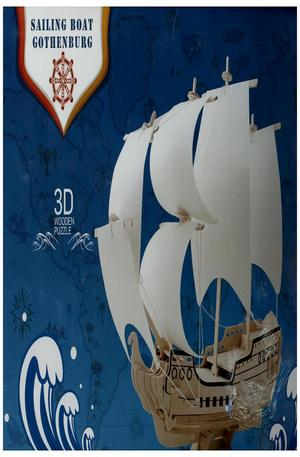 Продукт - Кораб Готенбург (Гъотеборг) – 79 части. Sailing Boat Gothenburg