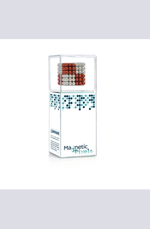 Книга - Magnetic Pixels SILVER/RED