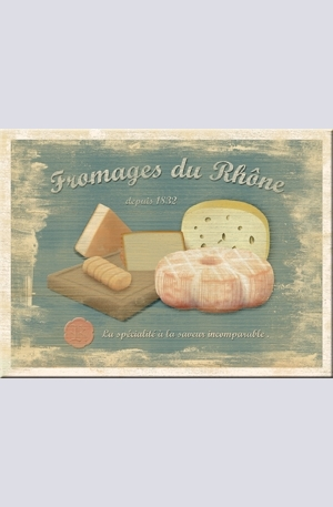 Продукт - Магнит Fromages du Rhone