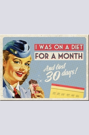 Продукт - Магнит I Was On a Diet For a Month