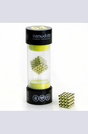 Продукт - Магнитен пъзел - Nanodots gold 64