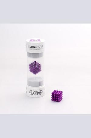 Продукт - Магнитен пъзел - Nanodots purple 64
