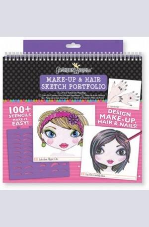 Продукт - Make-Up & Hair Design Sketch Portfolio