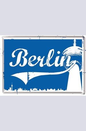Продукт - Метална картичка Berlin