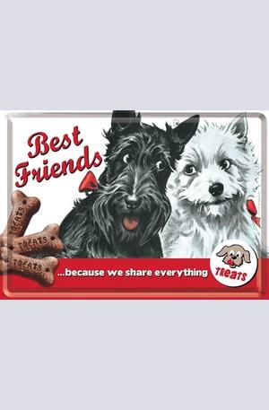 Продукт - Метална картичка Best Friends