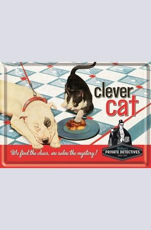 Продукт - Метална картичка Clever Cat