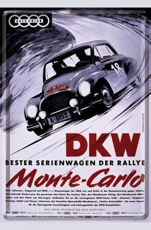 Продукт - Метална картичка DKW Monte-Carlo