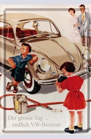 Продукт - Метална картичка Der grosse Tag... endlich VW-Besitzer