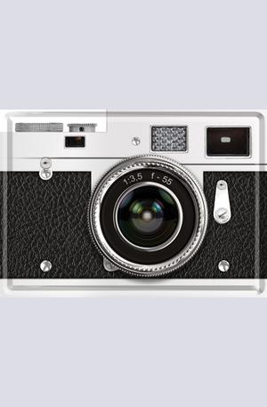 Продукт - Метална картичка Фотоапарат
