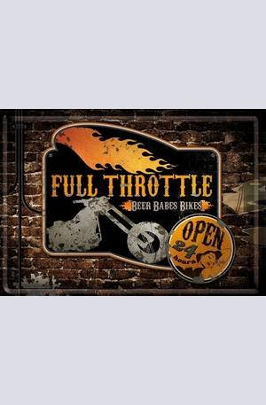 Продукт - Метална картичка Full Throttle